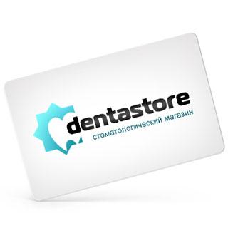 Логотип для стоматологического магазина «dentastore». Автор: di56.ru - дизайнер Дмитрий Ковалёв