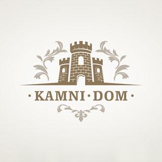 Логотип для сайта «KAMNI-DOM». Автор: di56.ru - дизайнер Дмитрий Ковалёв